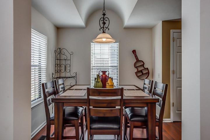 Eat in kitchen with seating for 8.