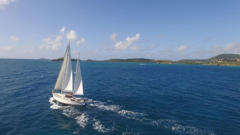 Sail Into Romance aboard Bel Ami, our 53 foot world class luxury sailing yacht.