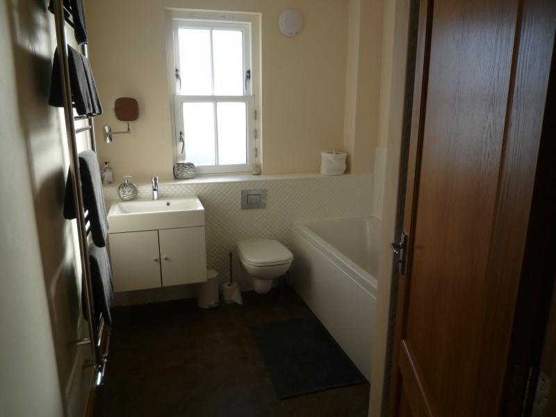 Bathroom with separate Shower & Heated Towel Rail
