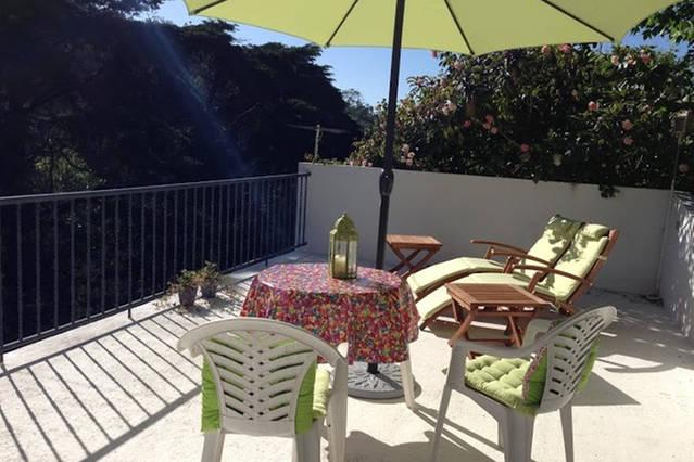 Private, sunny terrace just for you! Lovely views!