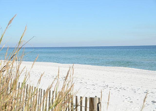 Beautiful, White Sandy Beach