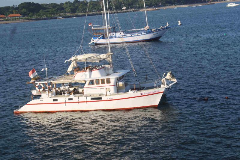 48ft Trawler-Catamaran in Bali