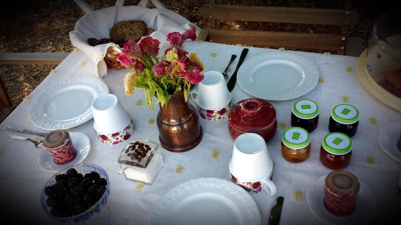 Our Italian breakfast.
