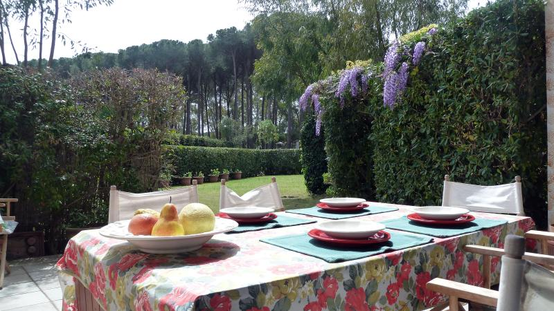 Terrace house near to the beach, holiday rental in Santa Margherita di Pula