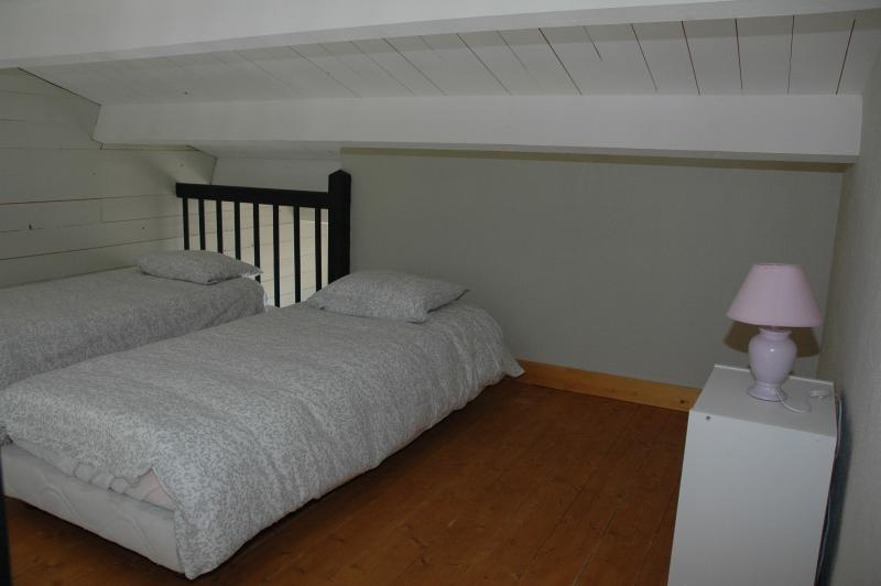 Twin mezzanine bedroom