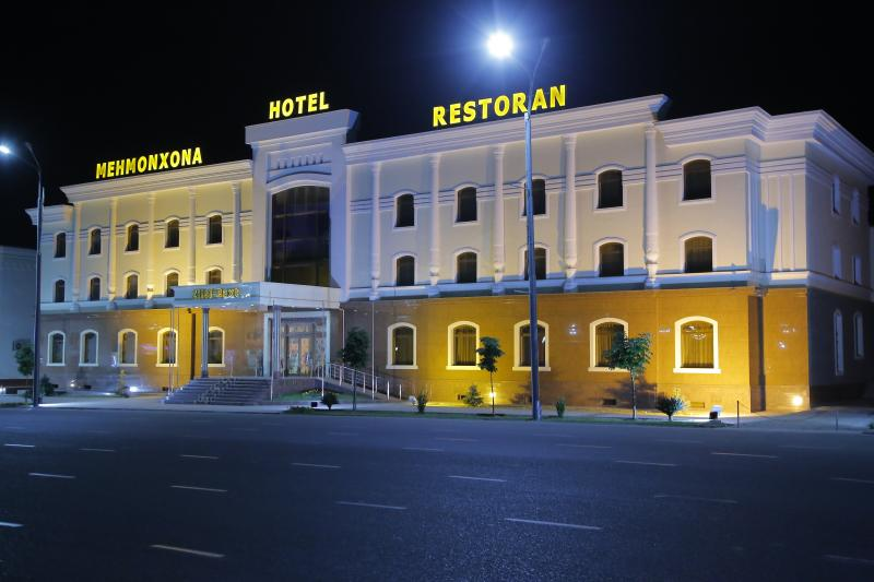 "Hotel ""Zilol Baxt"" is situated in the historical center of Samarkand."