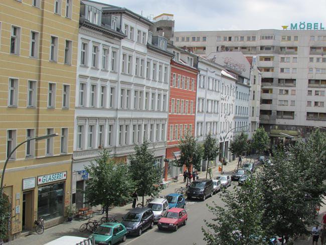 vue sur la rue de Kottbusser Tor
