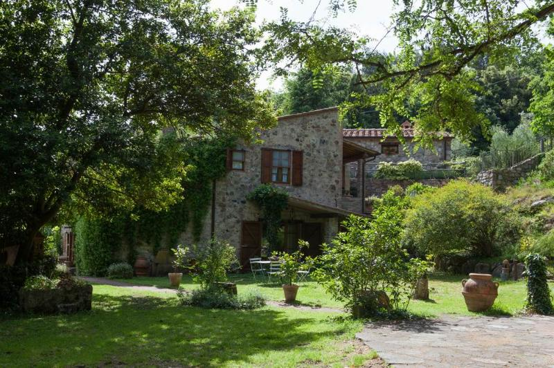 The mill T,stunning lovely relaxing holiday property,huge park, shared Jacuzzi, holiday rental in Pomaia
