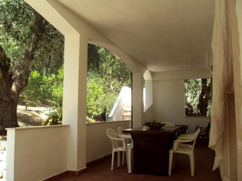 villetta - veranda esterna