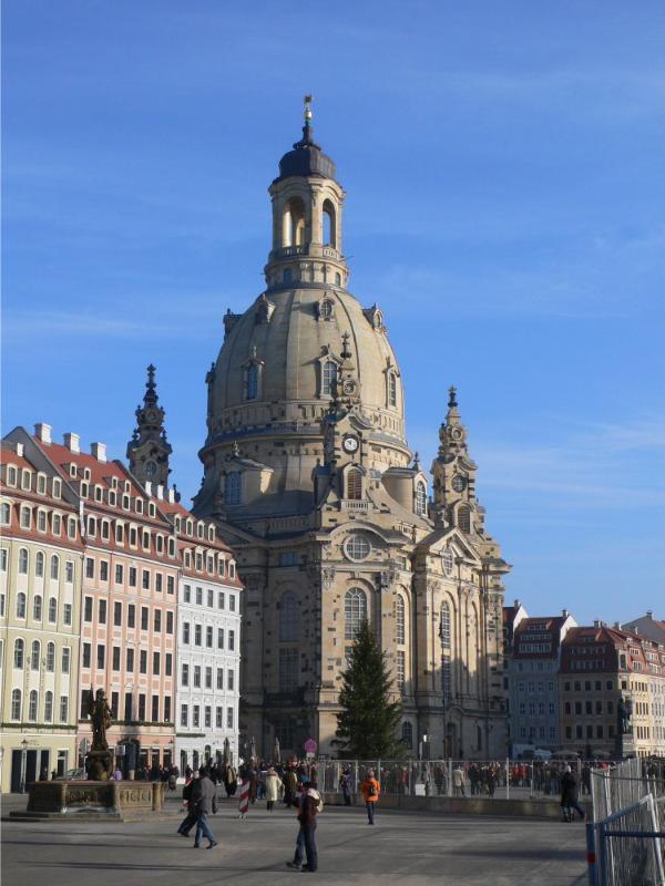 Dresdens berühmte Frauenkirche
