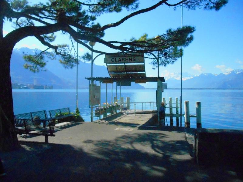 Port of Clarens - to Montreux - Switzerland-