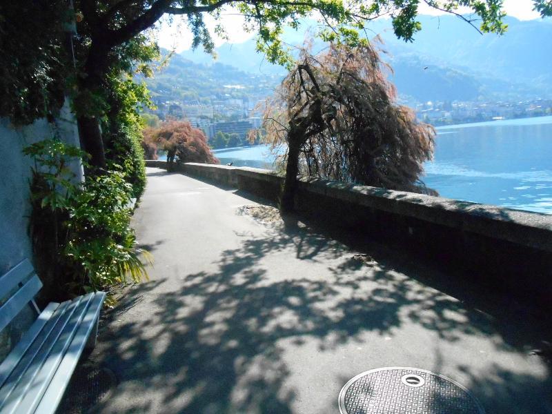 beautiful promenadas the banks of Lake Geneva