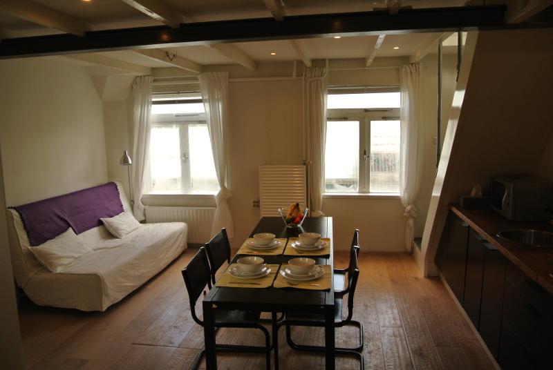 louer appartement Amsterdam Péniches Appartement