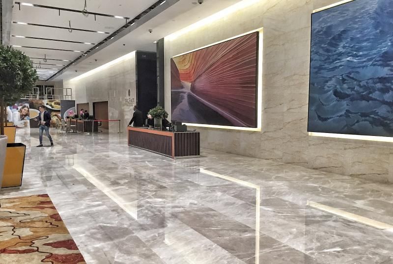 Lobby and concierge