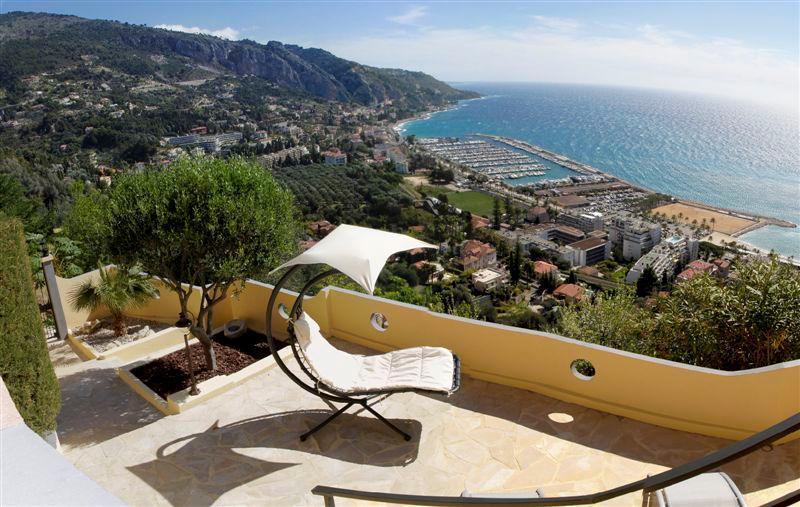 Villa Les Citronniers vue mer, vacation rental in Menton
