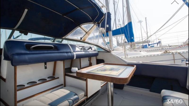 location appart Barcelona yacht Bateau