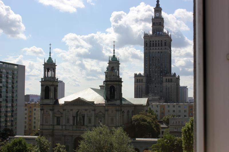 Warsaw from the window