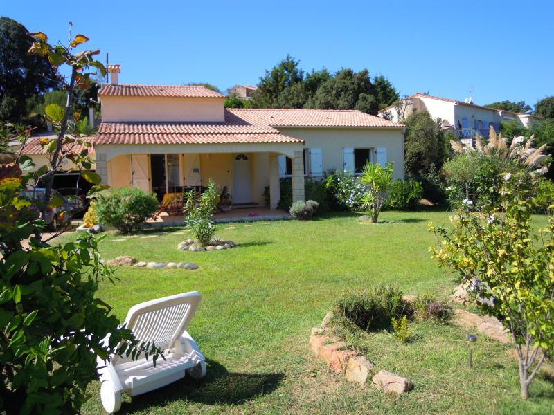 Villa entre Mer et Montagne, holiday rental in Eccica-Suarella