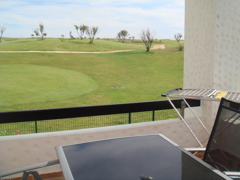 Terrasse sur le golf