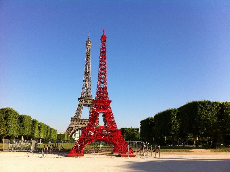 Eiffel Tower-rue Cler studio with a private patio, holiday rental in Paris
