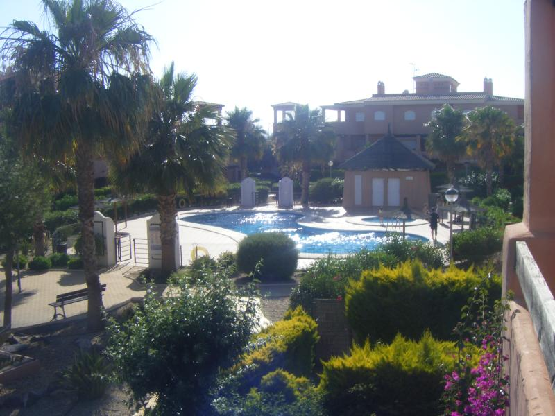 One of the 2 outdoor pool
