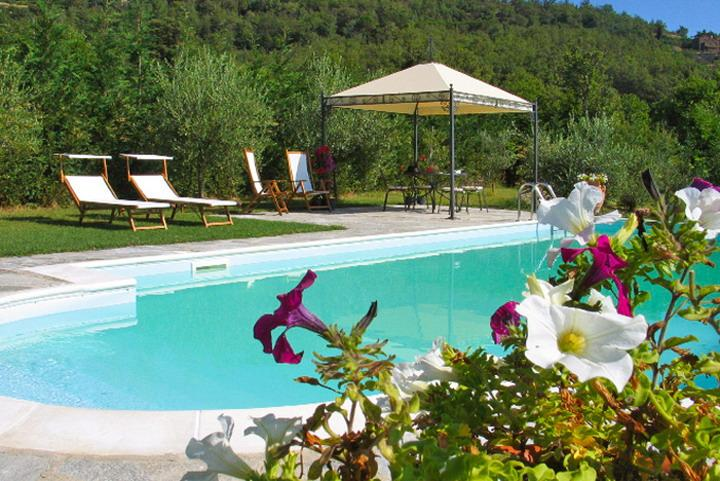 Villa Il Seccatoio: a cozy stone House in Cortona, location de vacances à Col di Morro