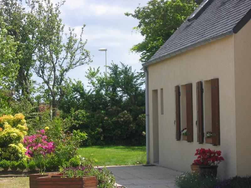 Gîte : bord du GR34 (Aber Ildut) Brélès, Finistère, entre Le Conquet et Portsall, location de vacances à Breles