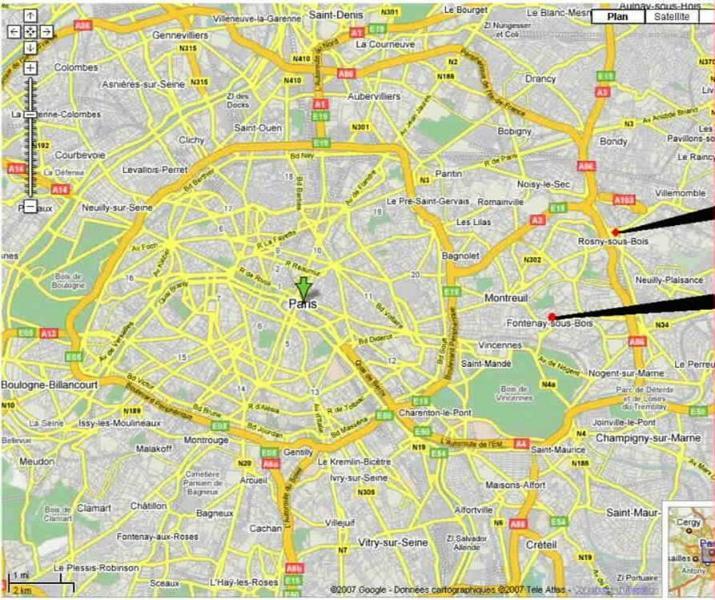 APPARTS T2 50 et 60m² de 2 à 4 Pers à 5mn de PARIS, holiday rental in Villemomble