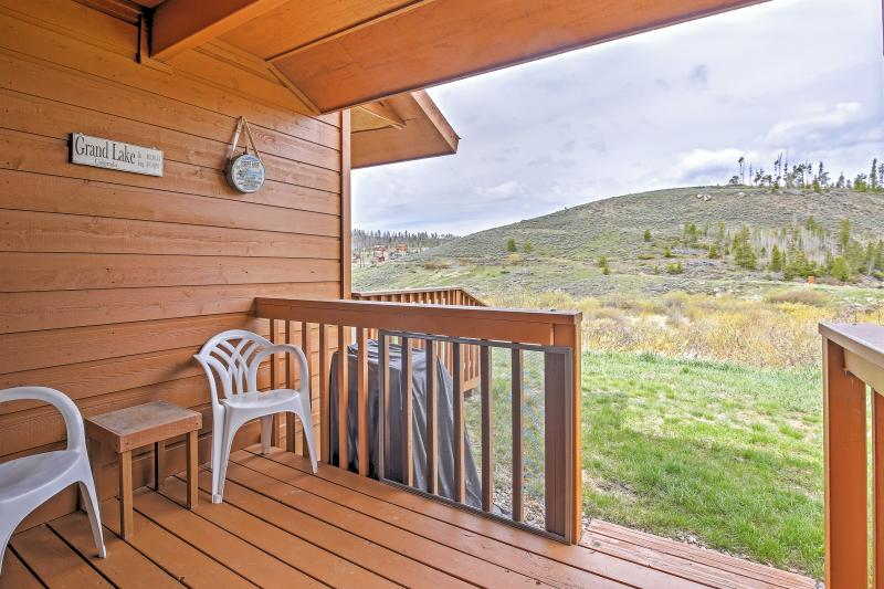 Elevate your Colorado retreat with a stay in this magnificent Grand Lake vacation rental condo.