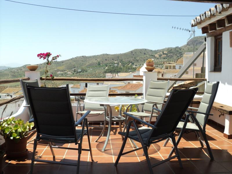 Negrillos terraza, holiday rental in Alora