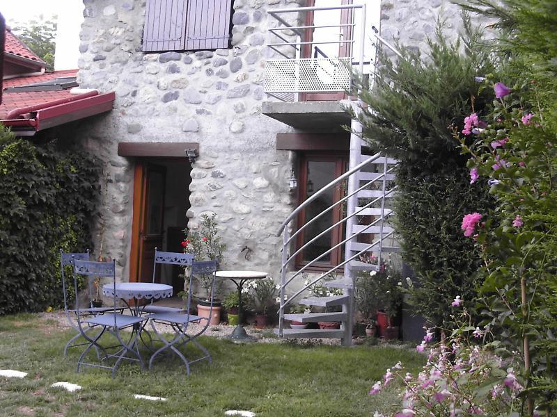 Appartement en rez de jardin, alquiler de vacaciones en Saint-Martin-d'Uriage
