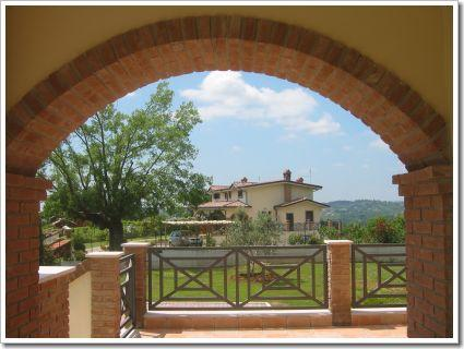 L'amichevole villa near Rome with garden, holiday rental in Civitella San Paolo