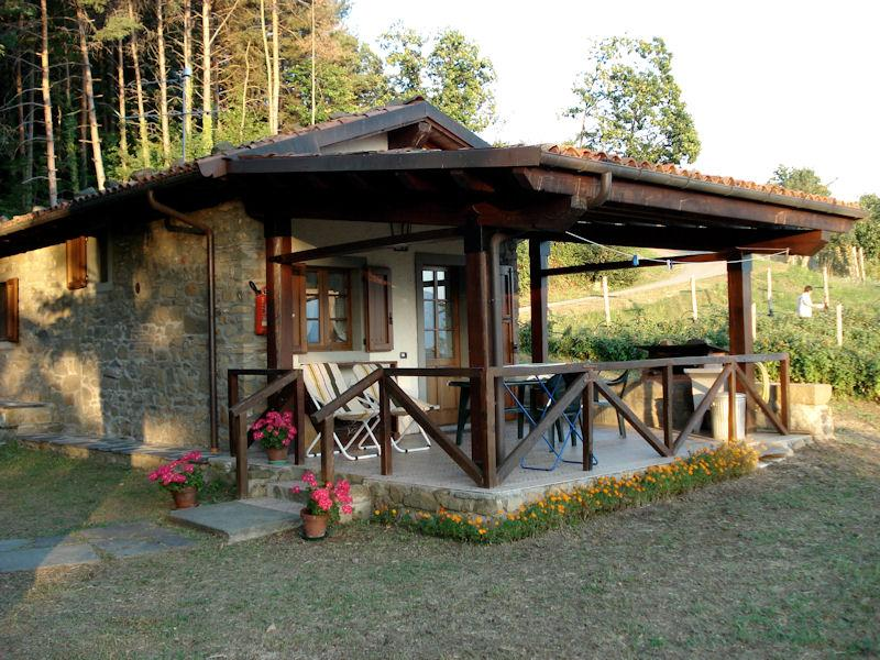 Agriturismo 'Fattoria Carpineta' Chalet, location de vacances à Pieve Fosciana