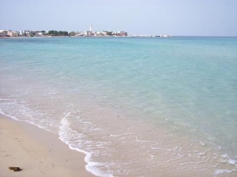 Local Beach, 5 mins walk.