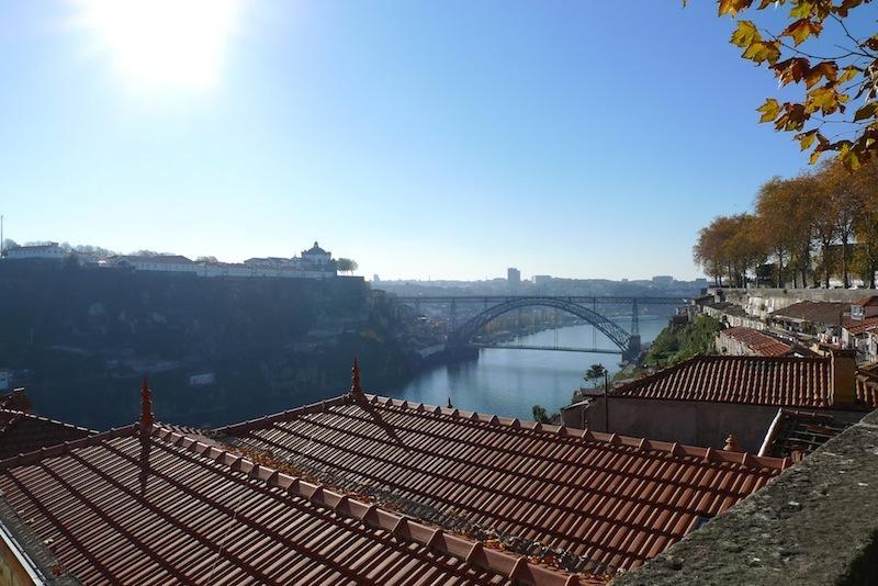 Increíbles vistas del río desde la calle, en frente del edificio, durante el día!