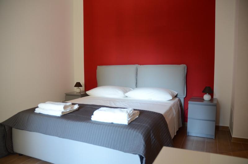 bedroom with bathroom. standard bed 160x190