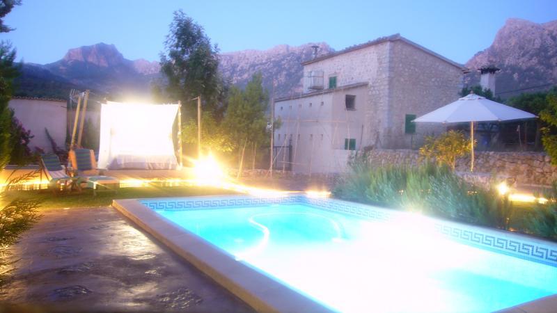 Casa con piscina y jardín, holiday rental in Soller