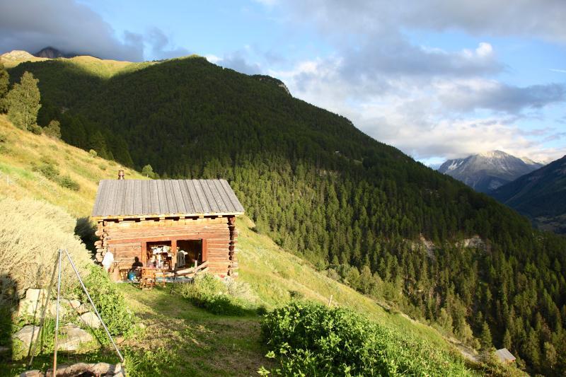 Grange Val d'Herens  1600 m. - Valais - Suisse, aluguéis de temporada em Evolene