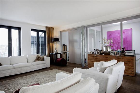 Doublefloor penthouse in the 'Pijp' in Amsterdam, holiday rental in Amstelveen
