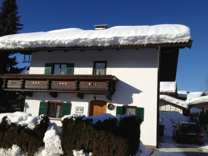 Haus Auwald Winter