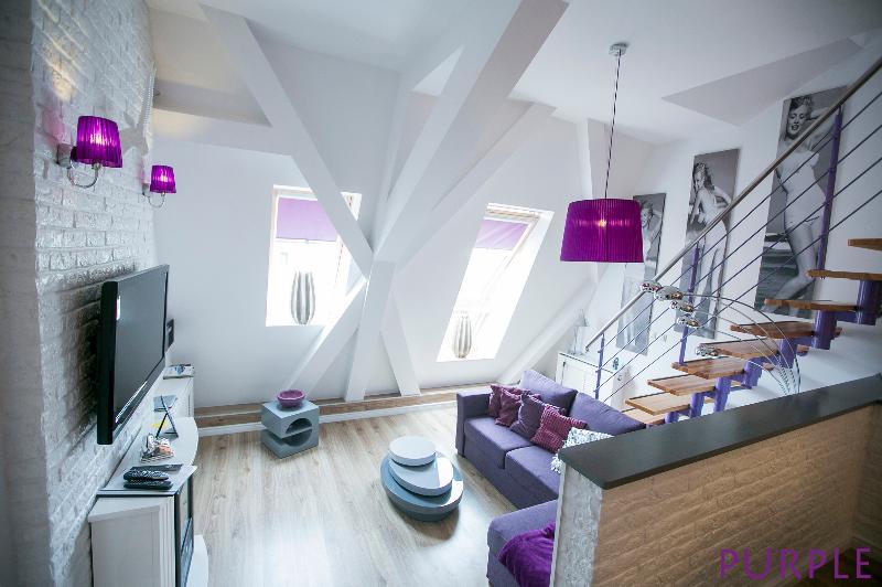 LUKSUS APARTAMENTY -MARIACKA - PURPLE, holiday rental in Morzyczyn
