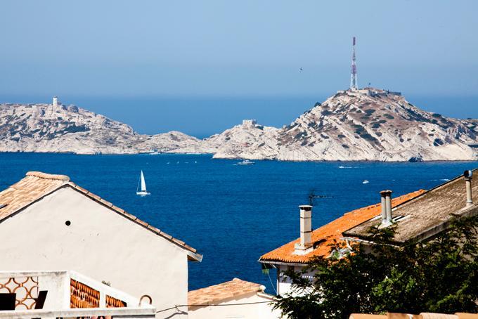 Belle vue mer, 5mn de la plage, location de vacances à Marseille