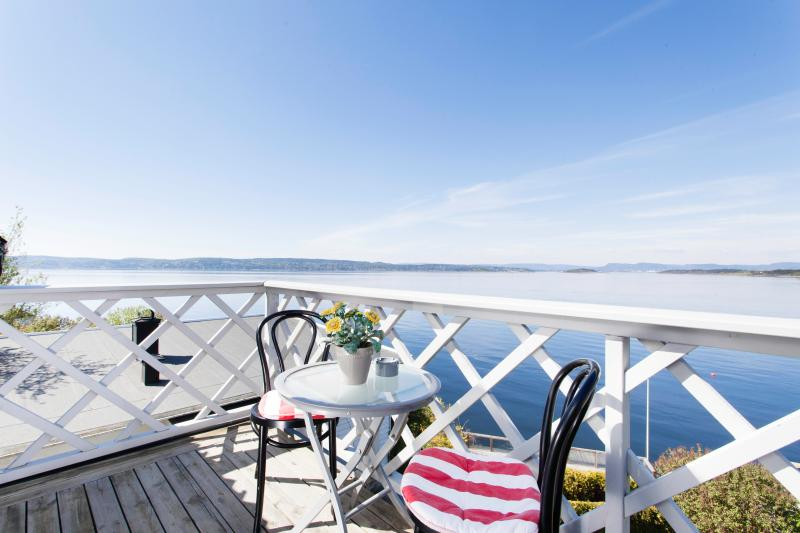Waterfront suite 12 min from centre, holiday rental in Lillestrom