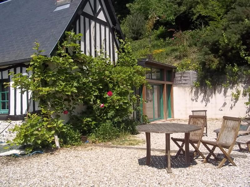 Etretat, Charme, campagne et mer (1km), location de vacances à Le Tilleul