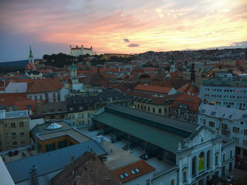 Best old town location-amazing view, holiday rental in Karlova Ves