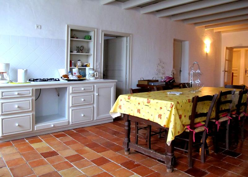Ancienne ferme, vacation rental in Condezaygues