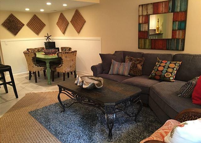 Hilton Head Beach Club 35 - Living Room