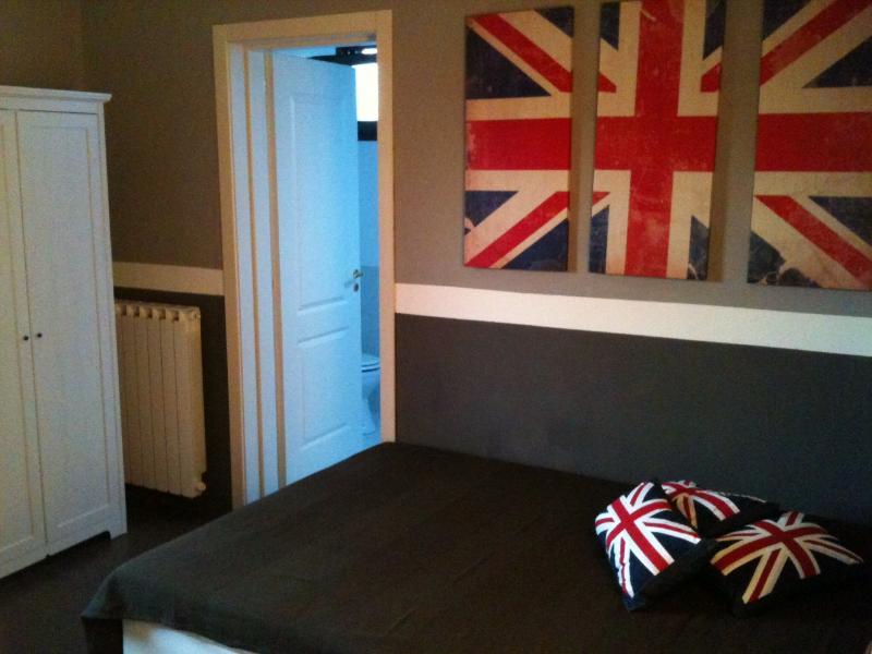 Inglés dormitorio con cuarto de baño