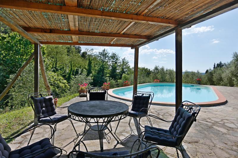 Chianti Panoramic Villa with a pool, casa vacanza a Casole
