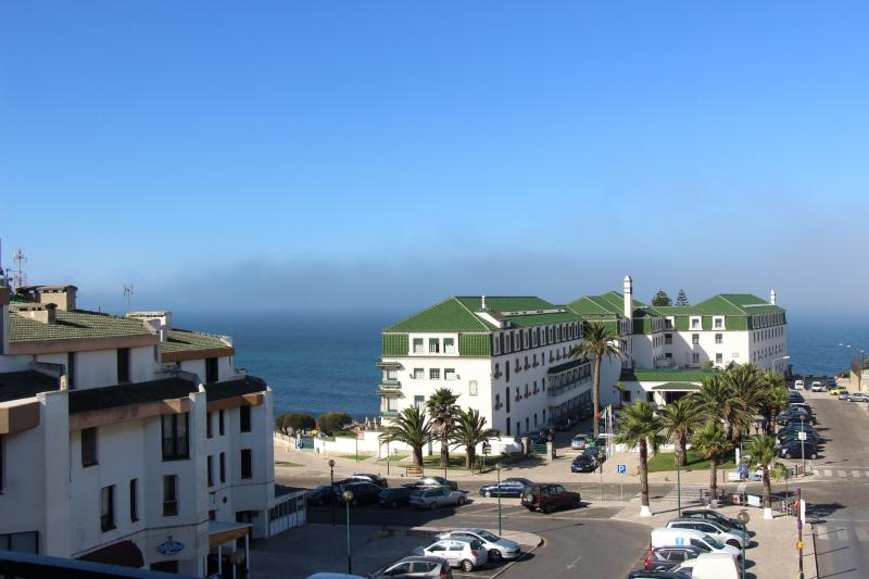 Just in front of the oldest and vintage Ericeira hotel, five minutes walking to the beach